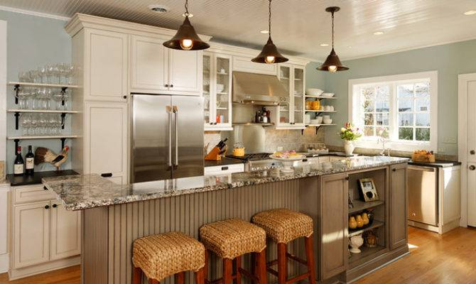 Open Concept Entertainer Kitchen Eclectic
