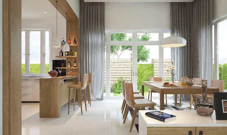 Open Concept Kitchen Dining Design