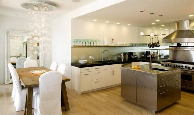 Open Concept Kitchen Dining Room Decobizz