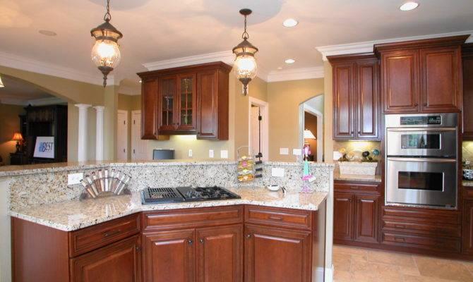 Open Concept Kitchen Enhancing Spacious Room Nuance