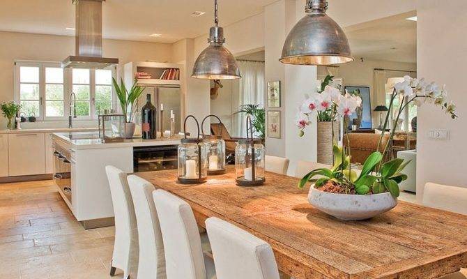 Open Concept Kitchen Interior Pinterest Tables Plan