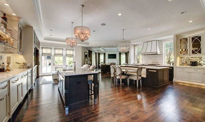 Open Concept Kitchens Designs Layouts