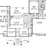 Open Concept Ranch House Plans New Bedroom