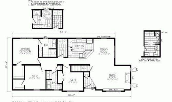 Open Concept Ranch Style House Plans Best Floor