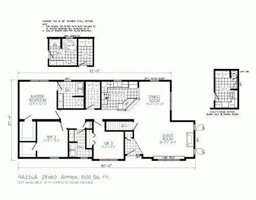 Open Concept Ranch Style House Plans Best Floor