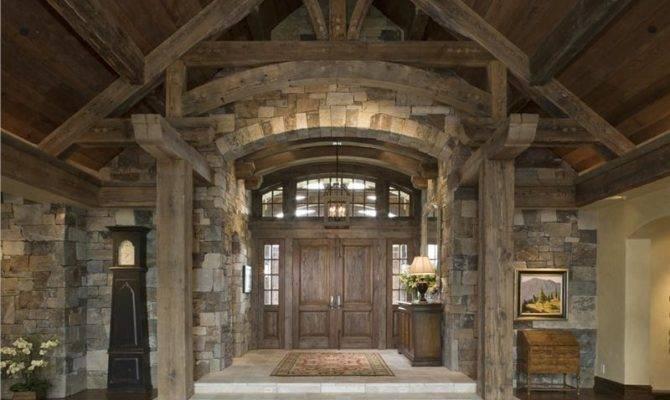 Open Country Rustic Foyer Jerry Locati