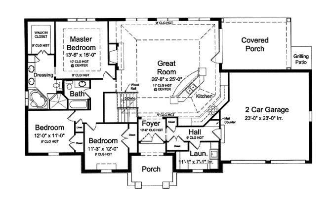 Open Floor House Plans Photos Gurus
