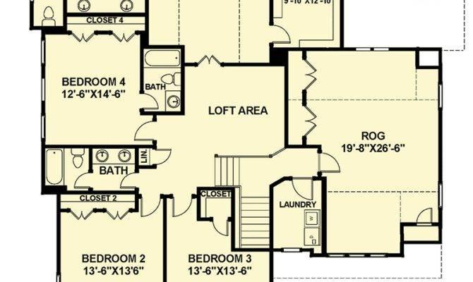 Open Floor Plan Farmhouse Architectural