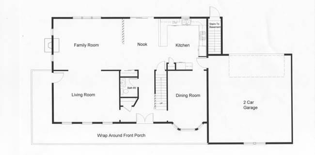 Open Floor Plan Provides Square Feet Modular Home Design