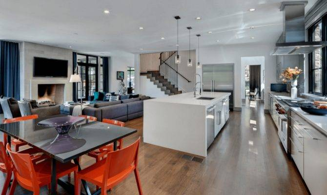 Open Floor Plans Trend Modern Living Usher Group Inc