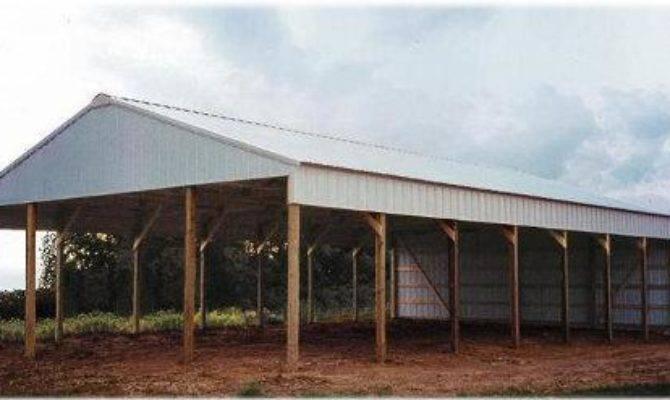 Open Hay Barns Pdf Post Beam Garden Sheds