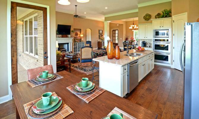 Open Kitchen Living Room Colors