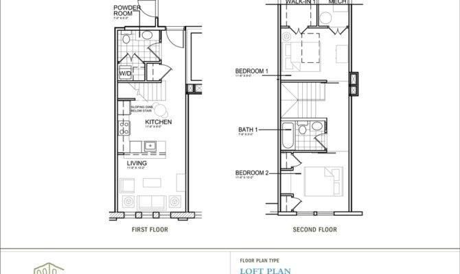 Open Loft Floor Plan Designs
