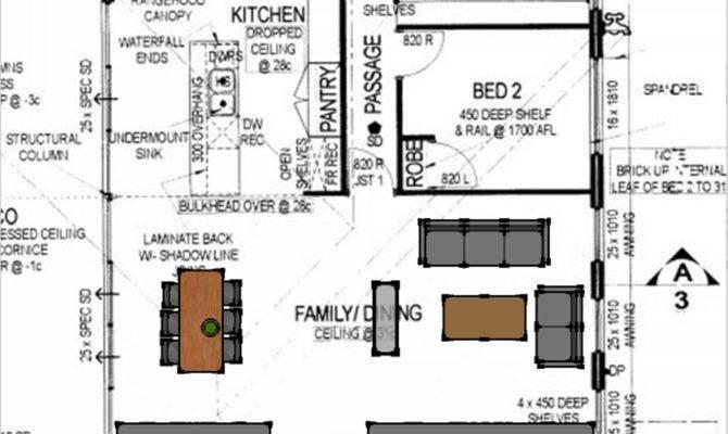 Open Plan Kitchen Floor Homes Plans