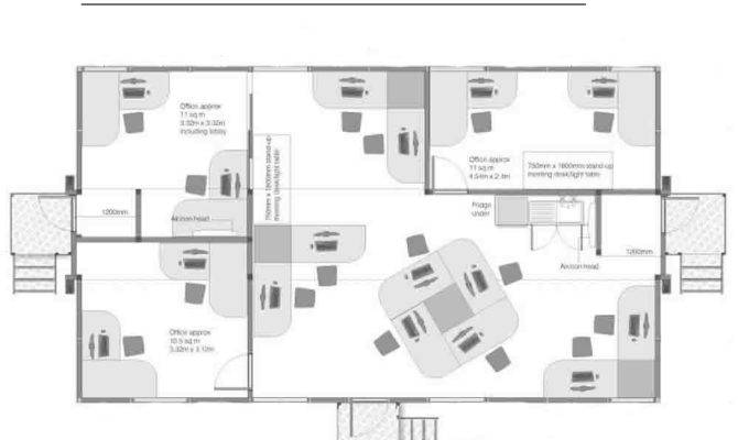 Open Plan Office Layout Group Tag