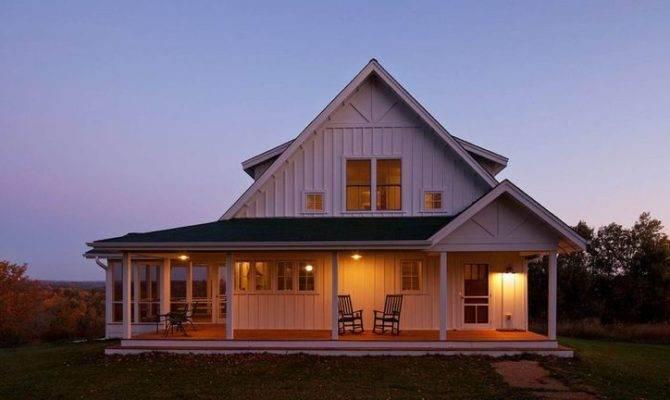 Open Porch Farmhouse Style House Our Prairie Pinterest