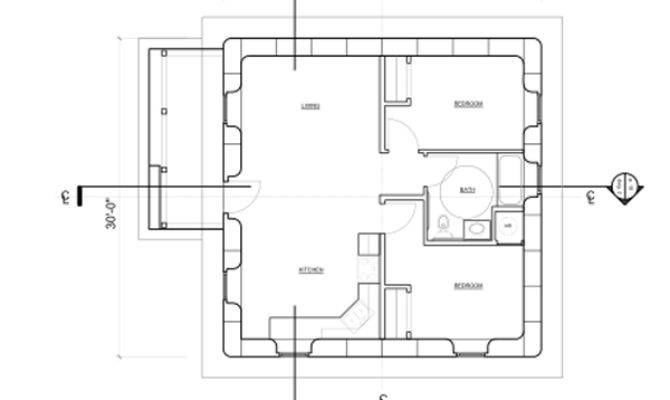 Open Source Strawbale House Design