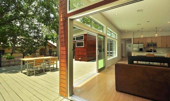 Open Space House Design Ideas Minimalist Style Large Terrace