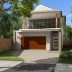 Option Small Suburban Blocks Flat Sloping Contemporary Home