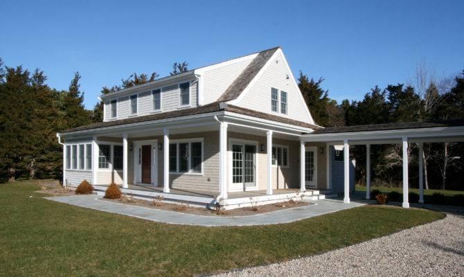 Orleans Waterview Farm House Breezeway