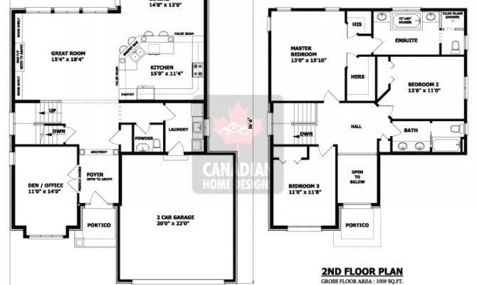 Ottawa Two Storey House Plan