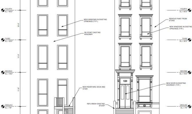 Our Townhouse Architectural Plans Taking Shape Beating