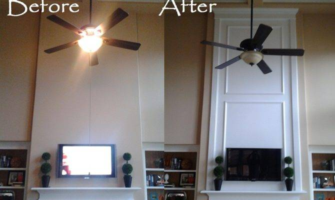 Our Two Story Fireplace Makeover Home Pinterest