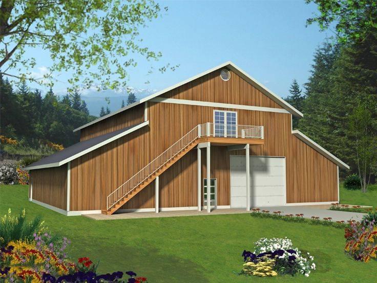 Outbuilding Plans Plan Tandem Garage