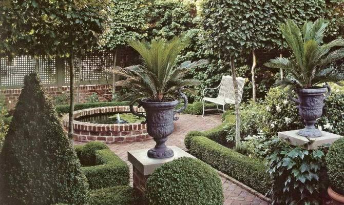 Outdoor Beautiful Brick Courtyard Designs Ideas Exterior Garden
