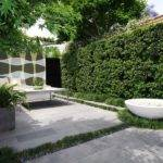 Outdoor Courtyard Garden Landscape Designs Home Interior Design Ideas