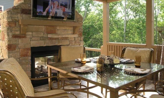 Outdoor Covered Patio Design Ideas Deck Designs Multidao