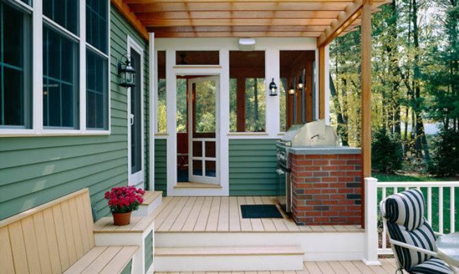 Outdoor Deck Decorating Ideas Home Designs