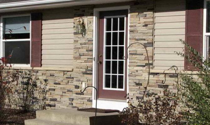 Outdoor Fake Stone Siding Exterior Home Decor