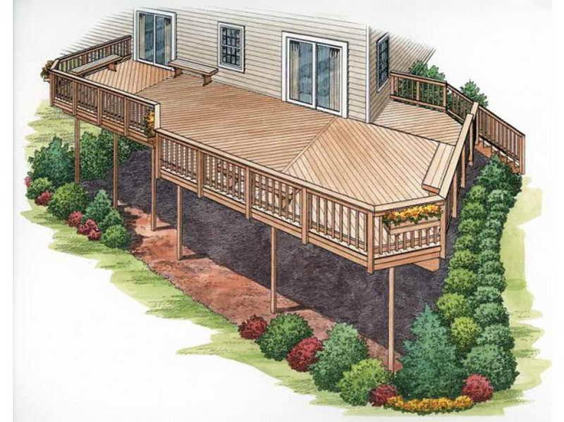 Outdoor Find Right House Deck Plans Park Design