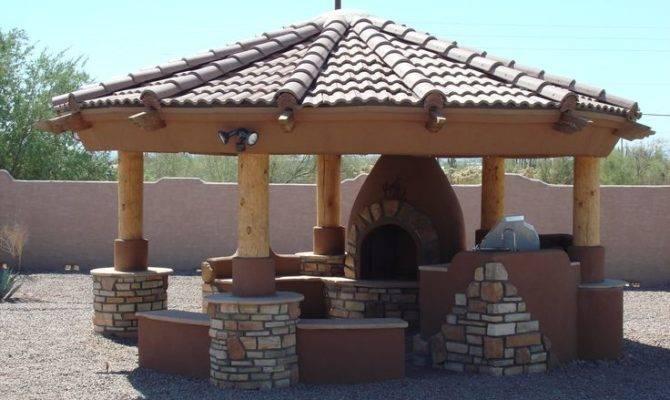 Outdoor Fireplace Gazebo Fire Pit Plans