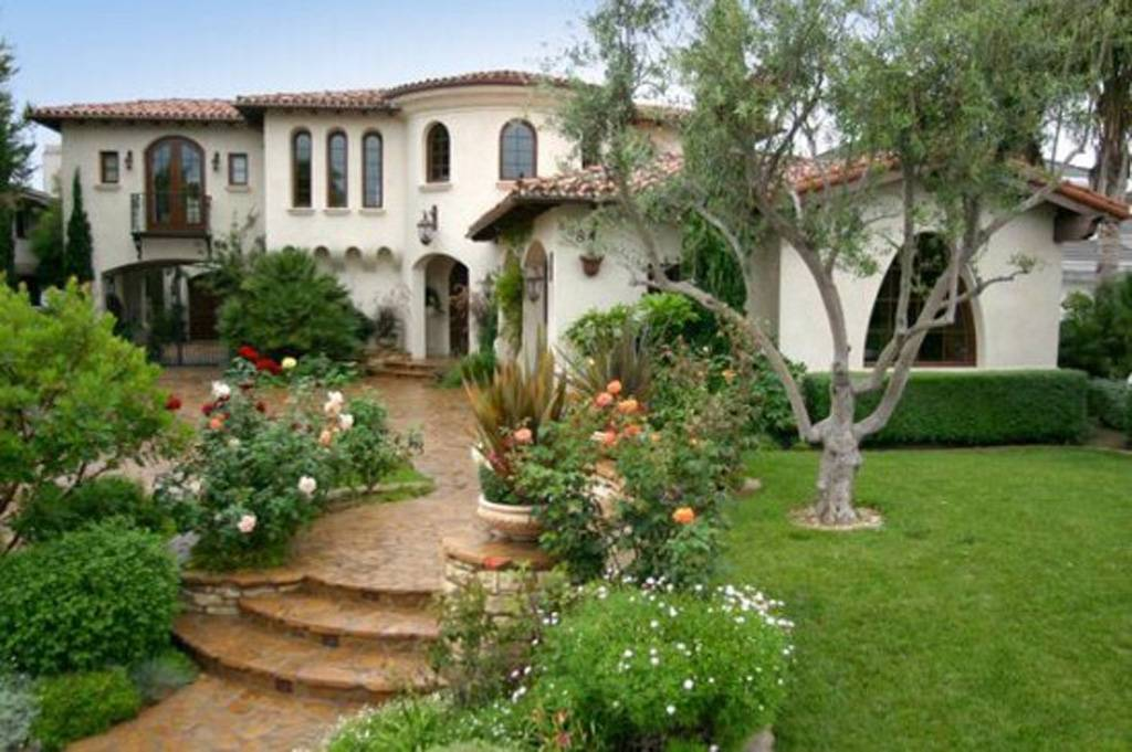 Outdoor Garden Design Spanish House Inspiration