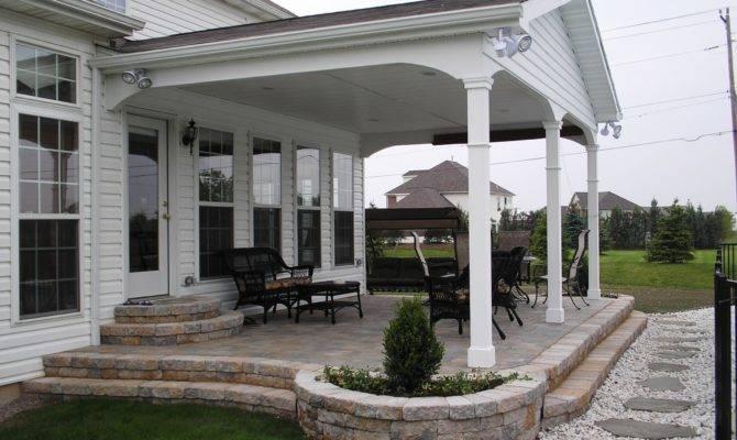 Outdoor Incredible Back Porch Ideas Home Design