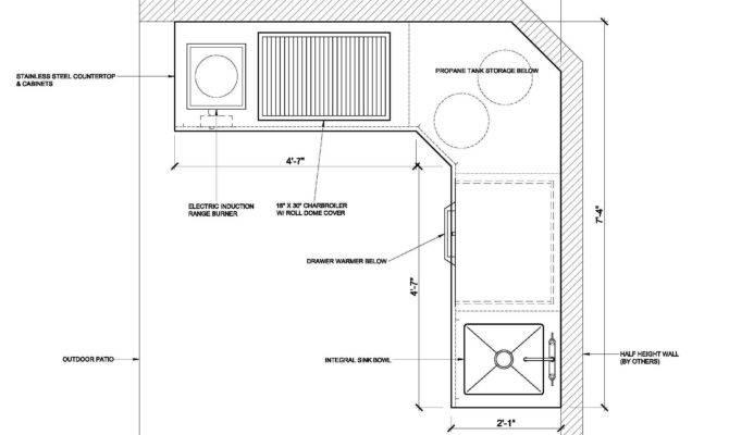 Outdoor Kitchen Layout Decor Design Ideas