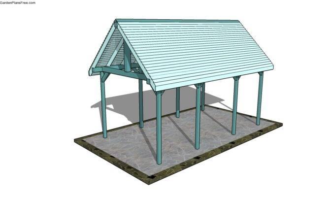Outdoor Pavilion Plans Home Decoration Ideas
