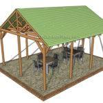 Outdoor Pavilion Plans Myoutdoorplans Woodworking
