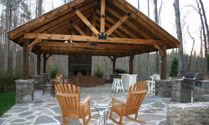 Outdoor Pavilion Plans Way Expand Your Area