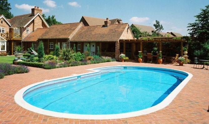 Outdoor Swimming Pool Pools Home