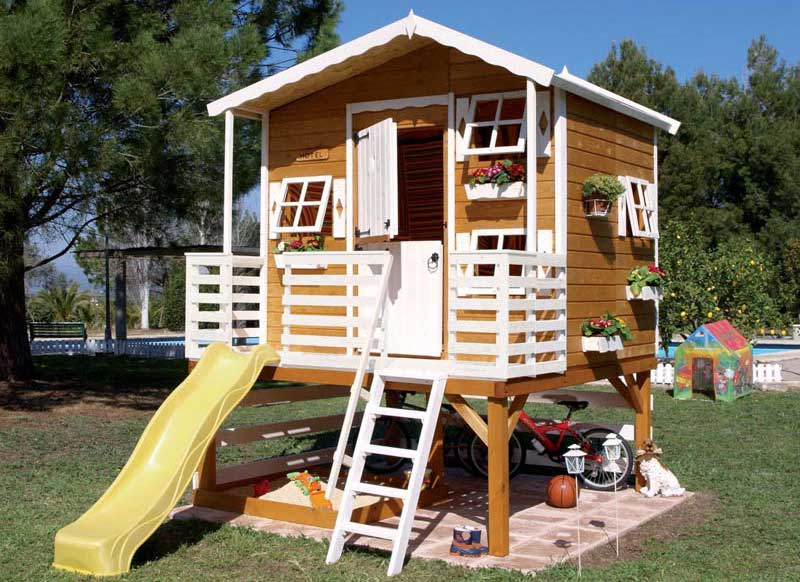 Outdoor Wood Playhouses Kids