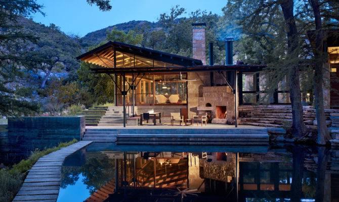 Outdoorsy Homestead Designed Lake Flato Embraces Views
