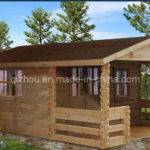 Outside Wooden House China Prefabricated Wood