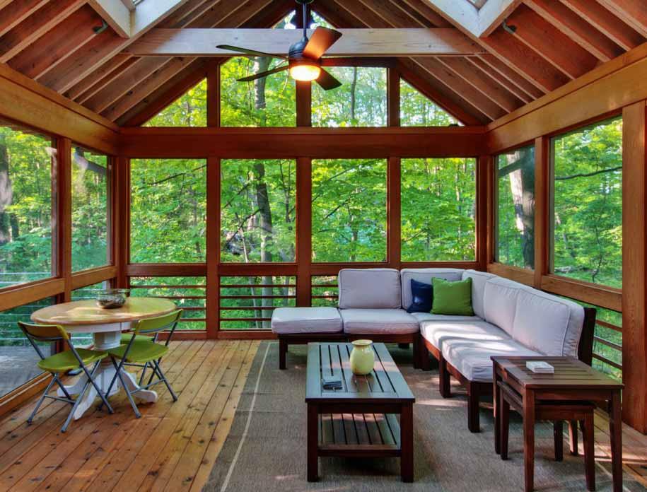 Outstanding Sunroom Furniture Design