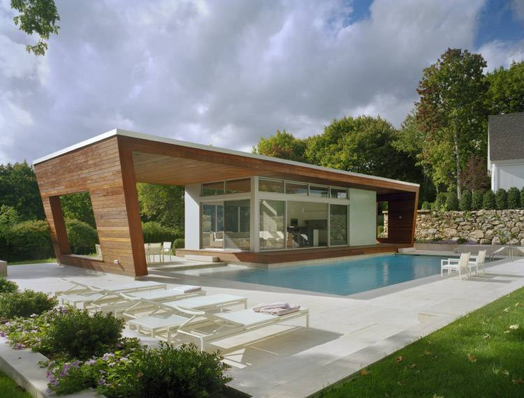 Outstanding Swimming Pool House Design Hariri Architecture