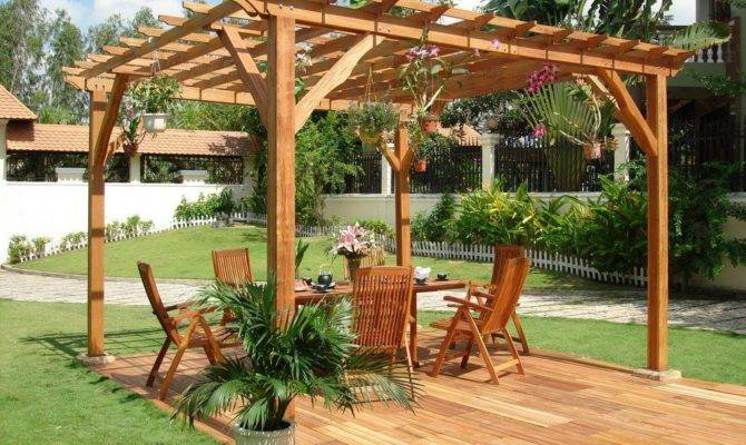 Outstanding Wooden Pergola Design Your Backyard