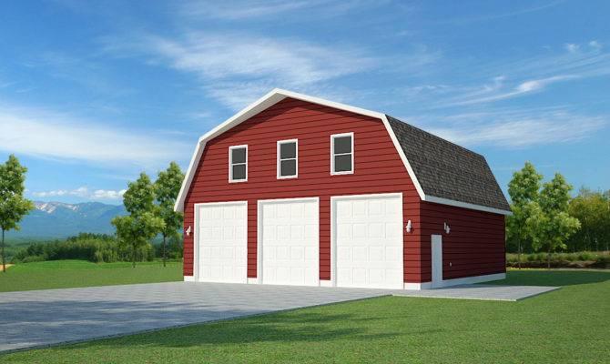 Over Garage Barn Plans Pdf Dwg Dvd