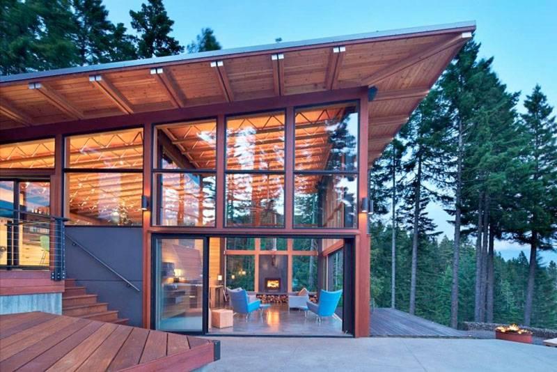 Pacific Northwest Home Seven Architecture